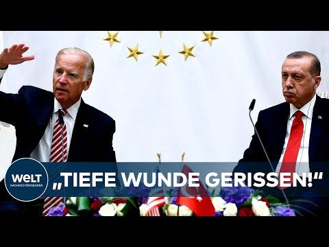 """NACH BIDEN-STATEMENT: """"Tiefe Wunde"""" - Türkei weist Erklärung """"in schärfster Form"""" zurück I WELT News"""