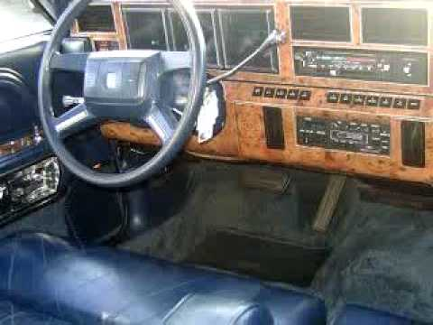 SOLD - 1986 Lincoln Town Car 49512 Berger Chevy - YouTube