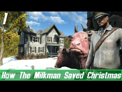 Fallout 4 Mods: How The Milkman Saved Christmas - Brahmin Party
