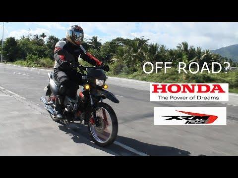 HONDA XRM 125 FI MOTARD/ OFFROADING