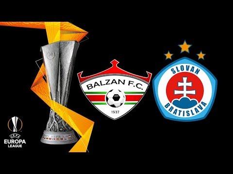 LIVE: Balzan FC  - ŠK Slovan Bratislava UEFA 2.QR