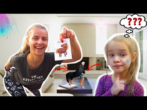 Угадай какое животное! Веселая семейная игра с детьми