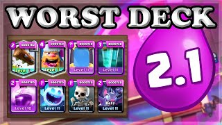 Beating the Challenge with CHEAPEST 2.1 Deck🍊