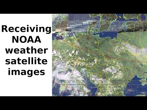 Receiving NOAA weather satellites with simple equipment