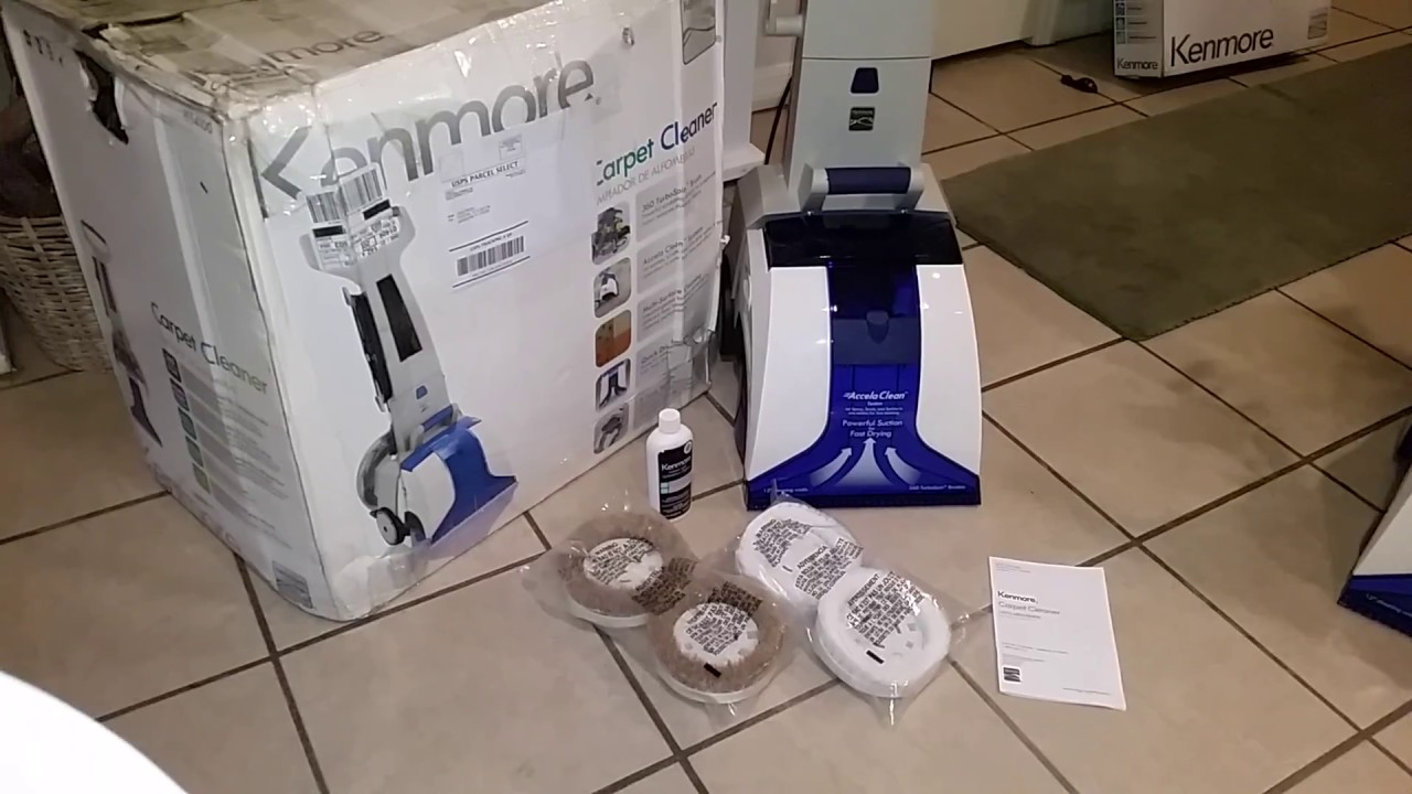 Another New Kenmore Multi Surface Carpet Cleaner Youtube