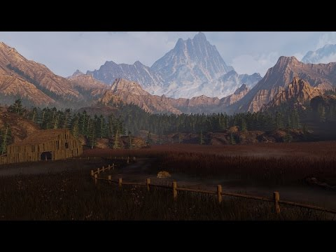 Creating a quick Unreal Engine 4 Mountain environment