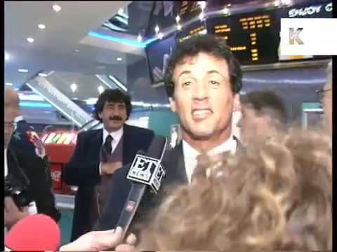 1995 Sylvester Stallone at UK Film Premiere