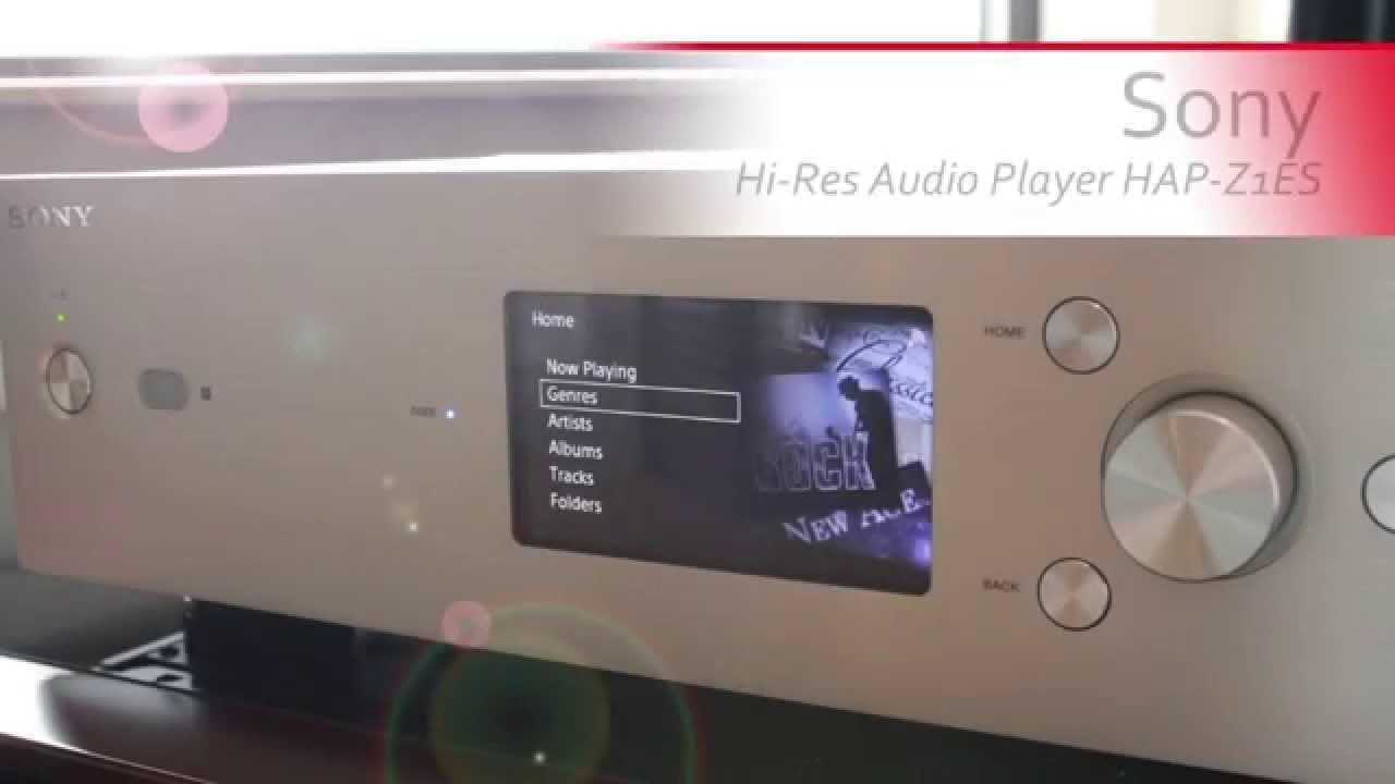 sony res audio player hap zes suess electronics appleton wi youtube