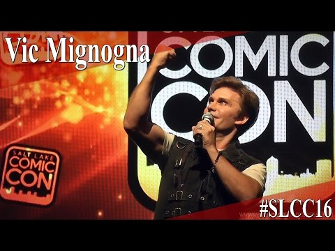Vic Mignogna - Full Panel/Q&A - SLCC 2016