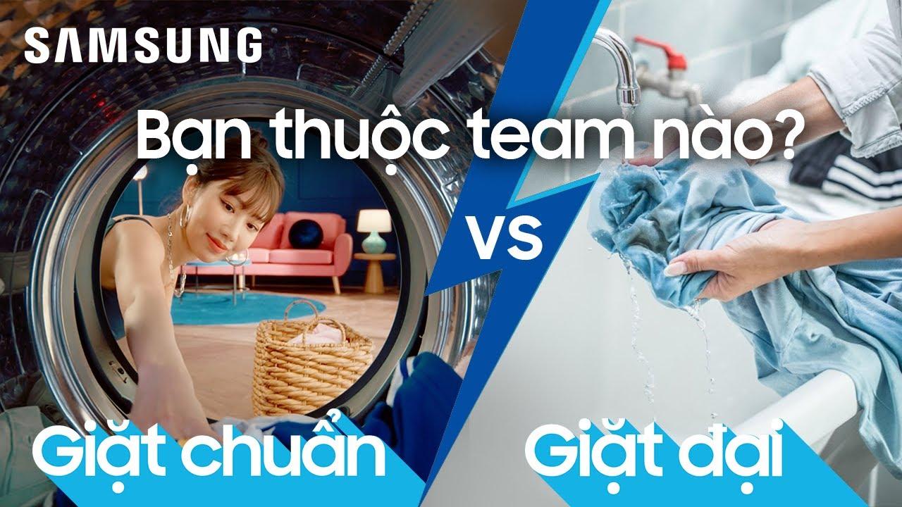 Máy giặt thông minh AI EcoBubble™️: Hết thời giặt đại, lên đời AI EcoBubble   Samsung