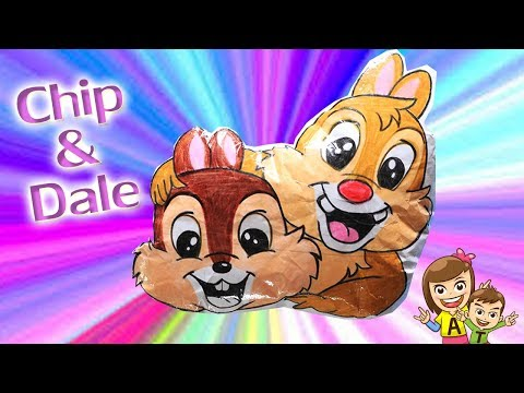 DIY L  Chip And Dale Paper Squishy L At4kids