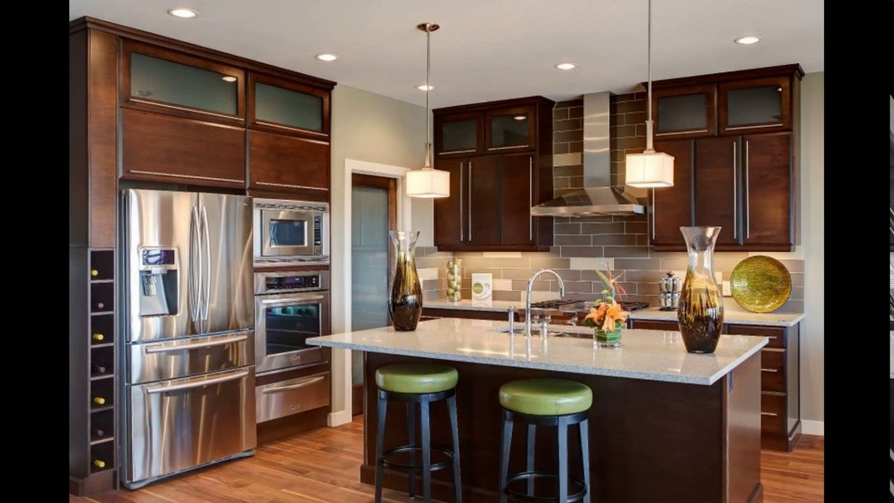 Kitchen Design Refrigerator kitchen design refrigerator placement - youtube