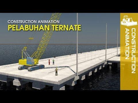 Construction Video - Pelabuhan Ternate | Port Animation