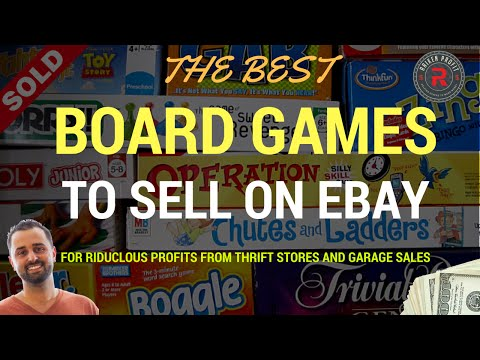 Board Games That Sell on Ebay for Ridiculous Profits From Garage Sales and Thrift Stores