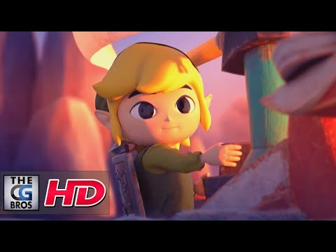 "CGI 3D Animated Short: ""The Legend of Zelda: The Wind Waker Fanart"" - by Vitor Maccari 