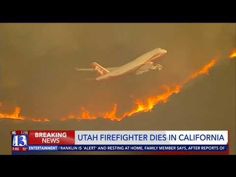Utah firefighter dies battling Mendocino Complex wildfire in California