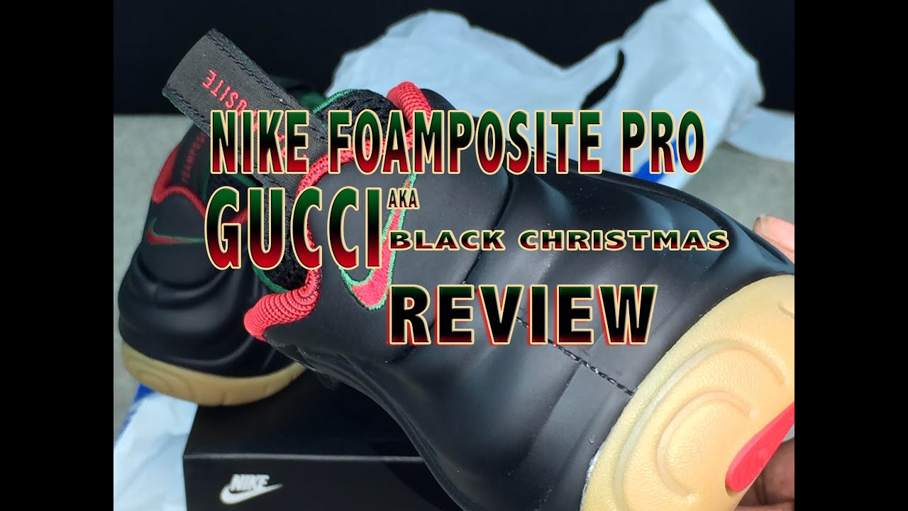 ecd0565f64b Nike Foamposite Pro Gorge Green Gucci Review - YouTube