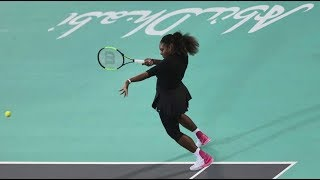 Serena Williams vs Jelena Ostapenko - Abu Dhabi 2017 Highlights