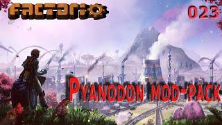 #Pyanodons ►#023 Обновленный рецепт горячего воздуха. Строим производство