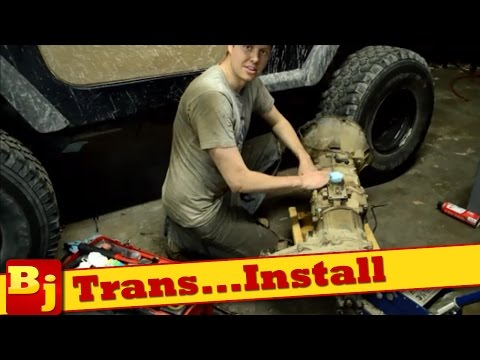 How to Install an AX15 Manual Transmission