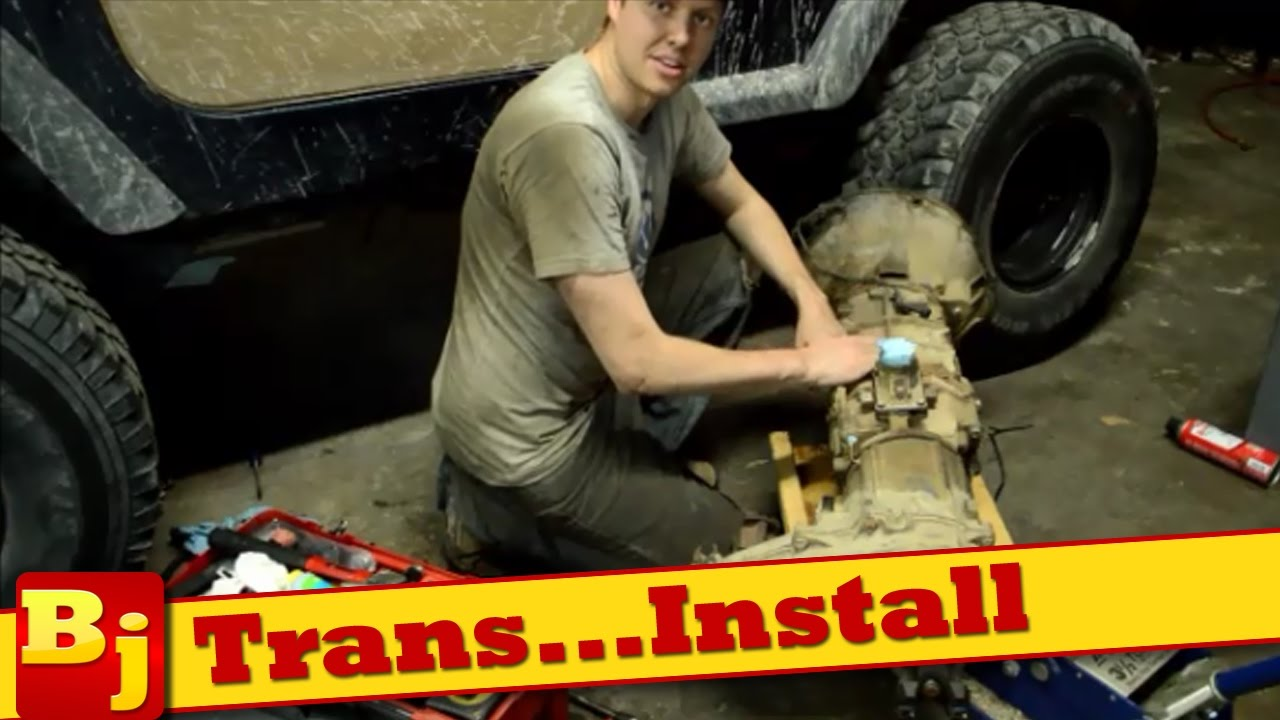 how to install an ax15 manual transmission [ 1280 x 720 Pixel ]