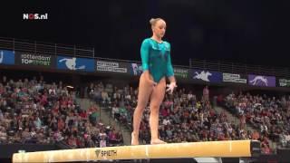 Sanne Wevers 2016 Dutch Nationals Beam Finals
