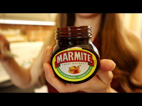 Americans Eating Marmite 7 Different Ways!
