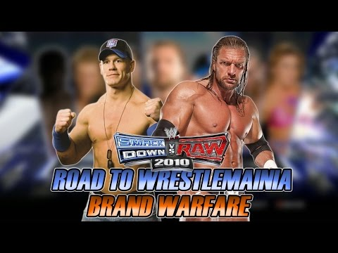 WWE SmackDown vs Raw 2010 - Road to Wrestlemania: Brand Warfare - #01- Disputa de Títulos