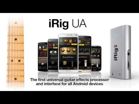 irig ua android guitar effects processor interface trailer youtube. Black Bedroom Furniture Sets. Home Design Ideas
