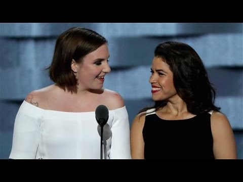 Lena Dunham, America Ferrara on Immigrants and Women's Rights