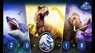 Мир Юрского Периода - Громадные Динозавры - Игра Мультик про Динозавров Jurassic World