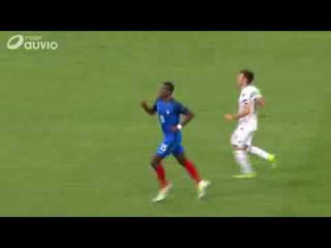 Bien connu Vidéo du bras d'honneur de Paul Pogba Euro 2016 France Albanie  LE06