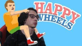 სასაცილო მომენტები – Drugs / თოვლის ბაბუ | Happy Wheels ქართულად