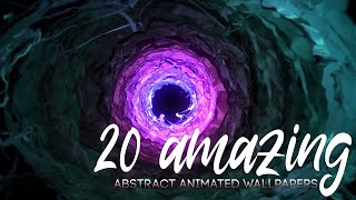 Top 20 Abstract Animated Wallpapers 2020 | Wallpaper Engine |