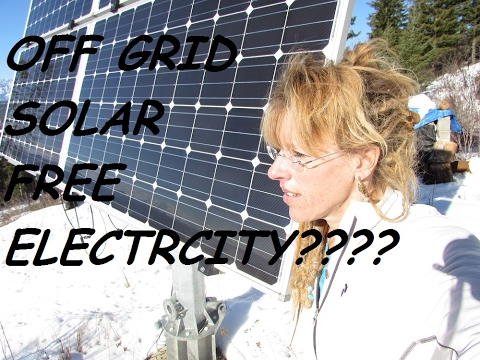 The Ultimate Guide To DIY Off Grid Solar Power: FREE YOUSELF!