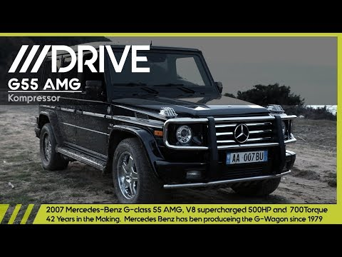 DRIVE /// G55 AMG Kompressor