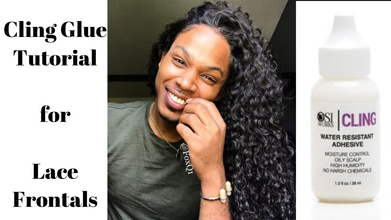 Cling Glue Tutorial For Lace Frontal Wigs Bella S Fox Curly Hair