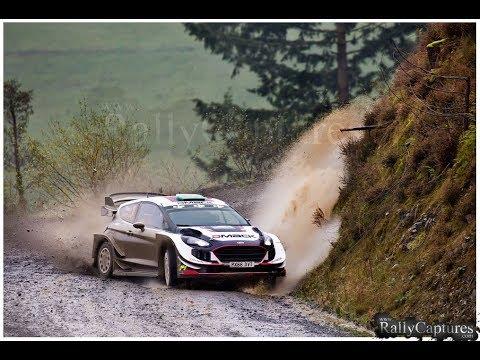 WRC Wales Rally GB winners 2017 - Elfyn Evans / Daniel Barritt - Ford Fiesta WRC