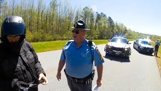 POLICE vs BIKERS | POLICE ENCOUNTERS | COOL & BAD COPS