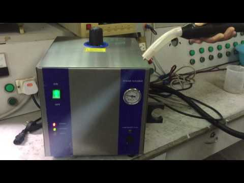 Steam cleaner for Dental or Jewellery use Modle: SJ5-2LG continuous operation