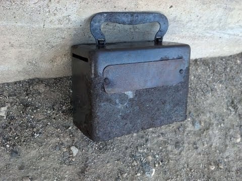 Thumbnail: Awesome Bank Box Found Metal Detecting a Ghost Town Mining Camp. Part 1