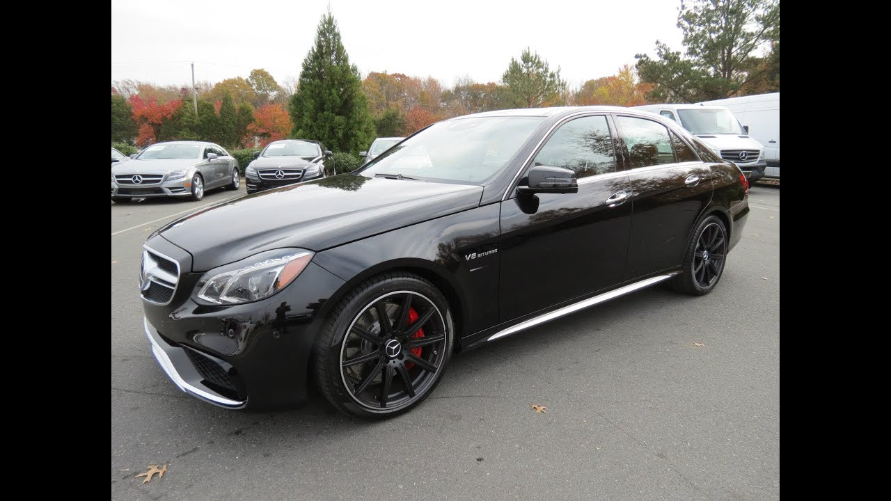 2014 mercedes benz e63 amg s 4matic start up exhaust for Mercedes benz e63s