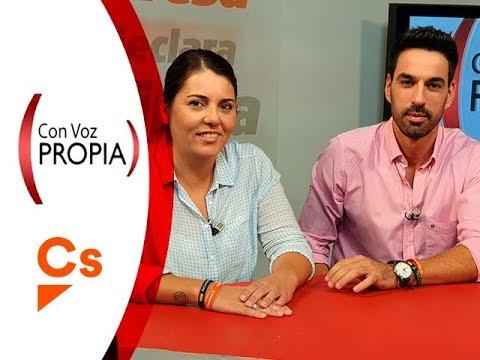 Con Voz Propia - Javier Hermoso y Yéssica De Torres, candidatos a Congreso y Senado de Ciudadanos