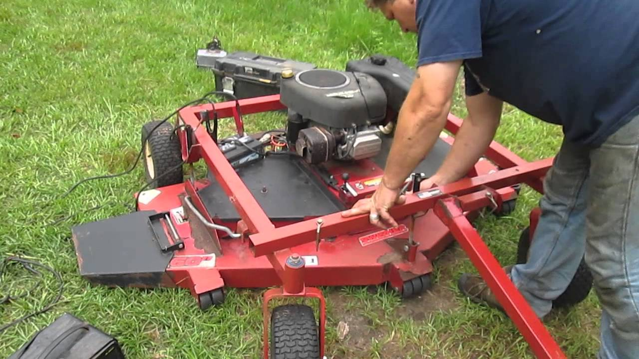 swisher 60 inch trail mower [ 1280 x 720 Pixel ]