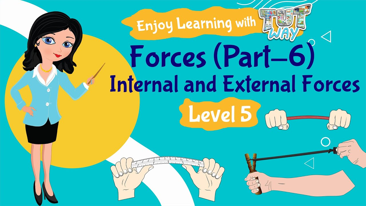 Forces-(Part-6)- Internal and External Forces   Science Grade-4 [ 720 x 1280 Pixel ]