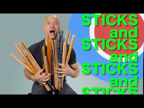 Percussion Sounds - Sticks and Sticks and More Sticks