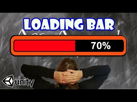 How to make a Loading Bar & Load Scene Asynchronously in Unity