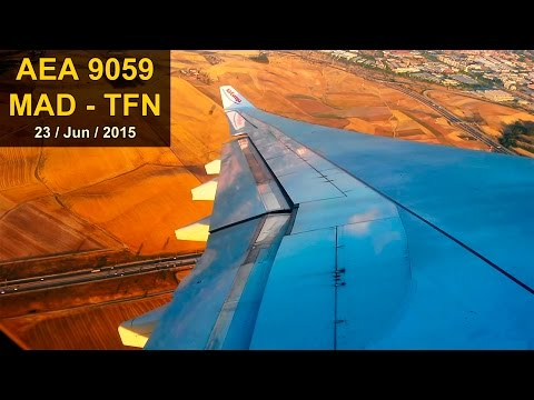 FULL FLIGHT A330 | Madrid - Tenerife | AIR EUROPA