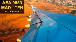 FULL FLIGHT A330 | Madrid - Tenerife | AIR EUROPA