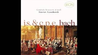 Bach C.P.E.: Concerto in D minor, 3. Allegro assai, H. 427 - Gustav Leonhardt